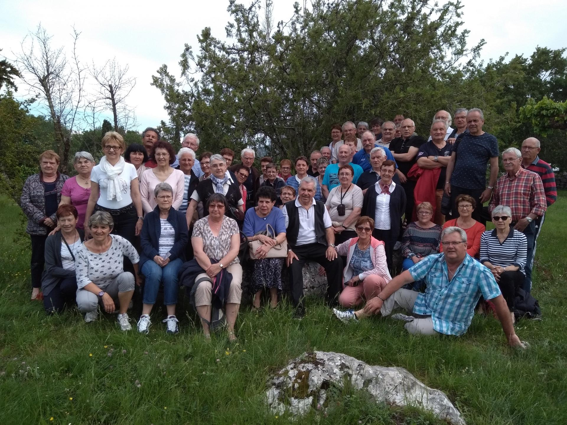 Groupe ardeche complet