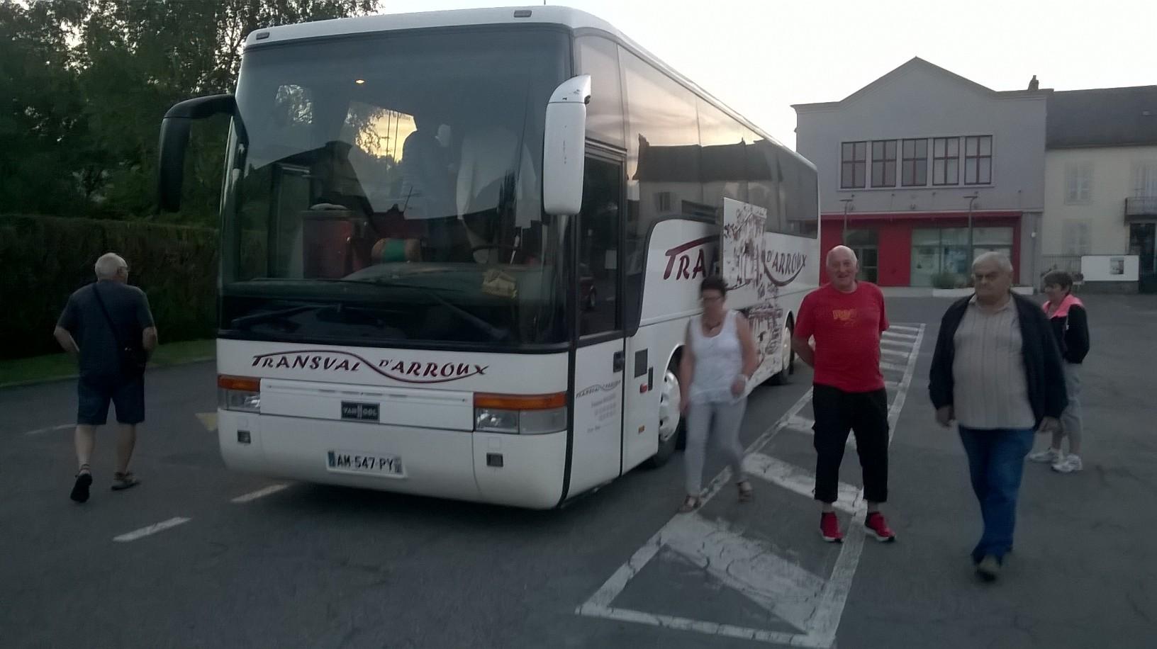 Voyage 2017 depart bus n 2